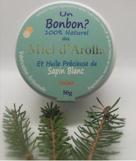 Bonbons au miel d'Arolla et au Sapin Blanc