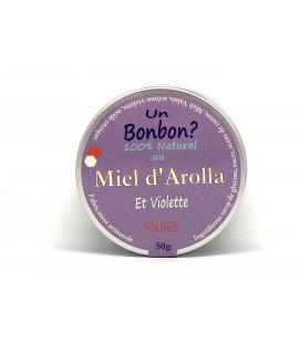 Bonbons au miel d'Arolla et Violette